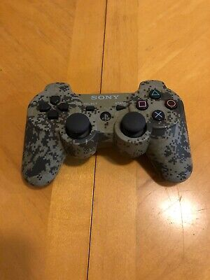PS3 Official Sony Playstation 3 Camo Wireless DualShock 3 Controller