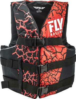 Fly Racing Nylon Floatation Vest Pink/Black (Pink, X-Small)