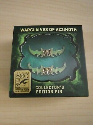 Blizzard - Warglaives of Azzinoth Collector's Edition Pins - SDCC 2016 Exclusive