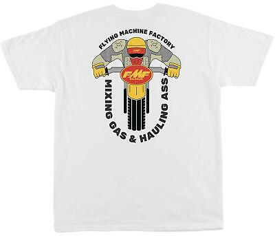 FMF Racing Elbows Out T-Shirt (White, Medium)