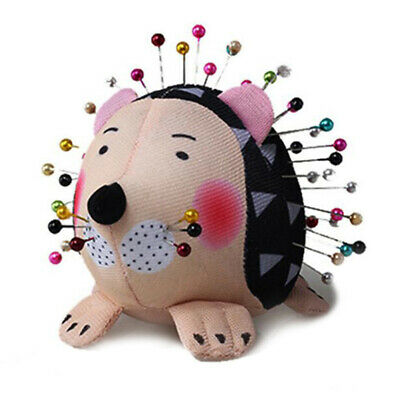 Hedgehog Shape Soft Fabric Pin Cushion Pin Quilting Holder DIY Sewing Craft OEO