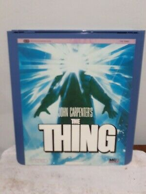 1983 The Thing CED Videodisc Used Classic Horror