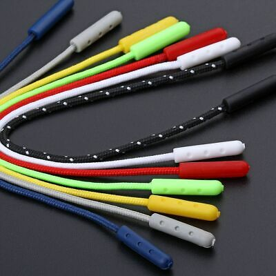 20x Cord Zipper Pull DIY Zip Head Puller Silder Clothes Bag Backpack Accessories