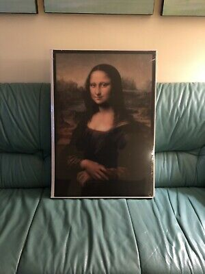Virgil Ablog Ikea Mona Lisa Markerad Backlit Painting