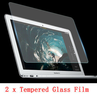 2 x Tempered Glass Guard Screen Protector for MacBook Air 13 A1369 A1466 A1932