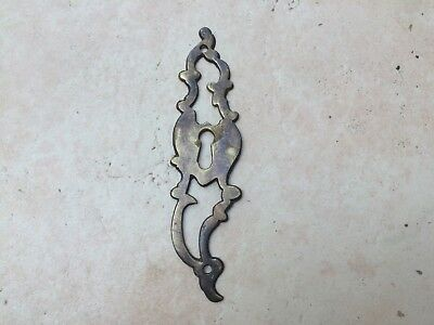 Large Antique Style Brass Escutcheon