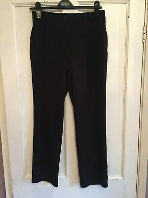 Girls Black Slim Leg Trousers from Next Age 14 years