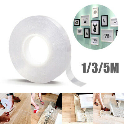 Double-Sided Adhesive Tape Multifunctional Traceless Washable Removable Tapes AU
