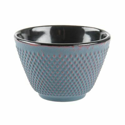 Benzer - Orient Express Kyoto Cast Iron Tea Cup 120ml Slate Grey with Bronze Fin