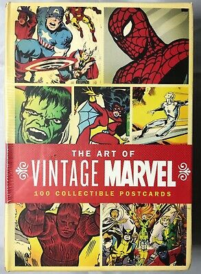 Marvel Comics: The Art Of Vintage Marvel - 100 Collectible Postcards - 2007