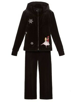 "DESIGNER ""LOVE MADE LOVE"" velour Nutcracker Christmas tracksuit"