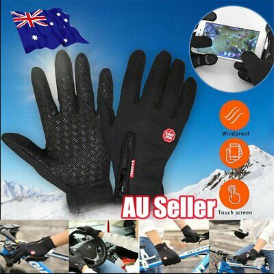 Cycling Touch Screen Gloves windproof Outdoor Jogging Skiing Hiking Running S4