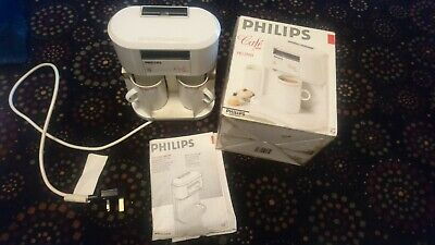 Vintage retro Philips Cafe Duo Hd5190 - compact coffee/drinks maker