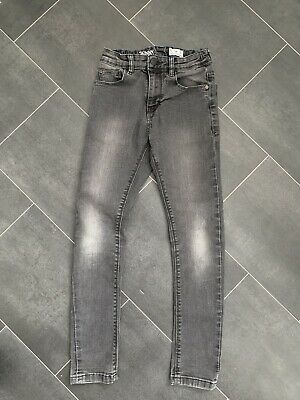 Boys NEXT Dark Grey/Black Skinny Jeans, Size 10 Years, Great Used Condition!!