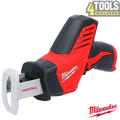 Milwaukee C12HZ-0 12v Compact Cordless Hackzall Reciprocating Saw Body Only