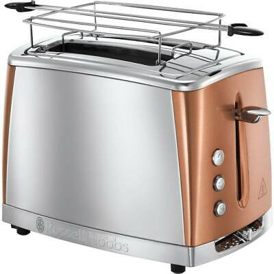 Russell Hobbs Toaster Luna Acier Cuivre 1550W 2 Tranches 24290-56