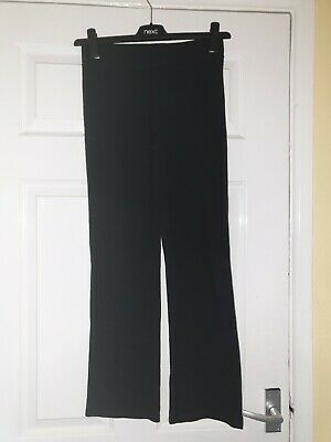 Girls Black Trousers Age 10-11 Years George
