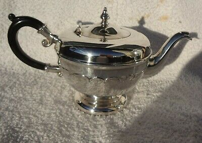 Vintage Quality Silver Plated  Epns Tea Pot Hallmarked Fmes Canada