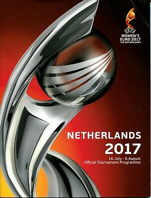 B96 Womens Euro 2017 Tournament Programme Netherlands