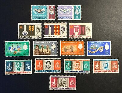 Dominica Selection 1965-1980 6 X Used Sets