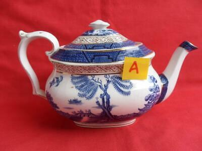 Booths Real Old Willow, Antique Teapot (A)