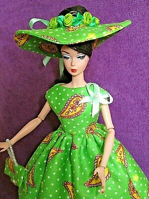 ООАК, dress, outfit handmade for Silkstone Vintage Barbie Fashion Royalty