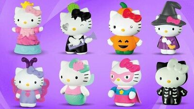 2019 McDonalds HELLO KITTY Happy Meal Toys COMPLETE SET OF 8 TOYS - NEW