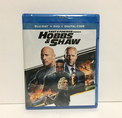 Fast and Furious Presents: Hobbs and Shaw (Blu-ray/DVD/Digital, 2019) FAST SHIP