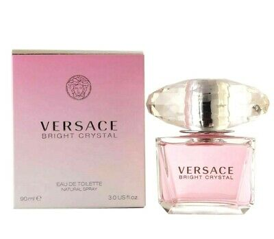 Versace Bright Crystal EDT Perfume for Women 3 Ounce NEW SEALED IN BOX