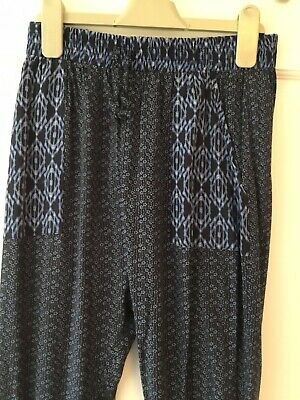 Girls Cotton Trousers Size Age 11 By Next In Excellent Condition
