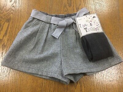 GIRLS  NEXT  WOOL SKIRT & TIGHTS SET -  10 years - BNWT