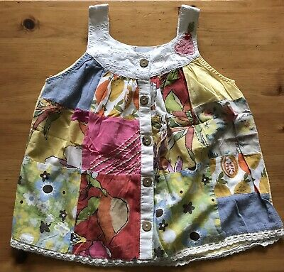 Girls Summer Top. Multi Colour. Age 6 Years. Next Brand.