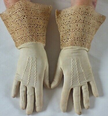 Fantastic GAUNTLET Style Vintage Gloves.Rare and collectible