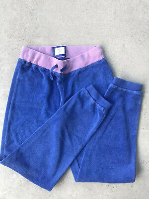 Mini Boden Girl Trousers Towelling Tracksuit Bottoms Age 10