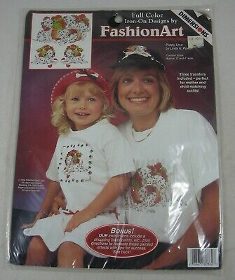 DIMENSIONS FASHION ART IRON-ON TRANSFER....GHOSTS ON THE PROWL