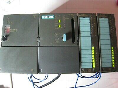 Siemens SIMATIC  S7 300 CPU 315 -2DP 2 x SM323  PS307 Rack