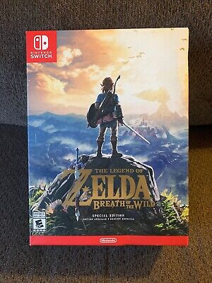Legend of Zelda: Breath of the Wild-Special Edition (Nintendo Switch)*NEW* READ!