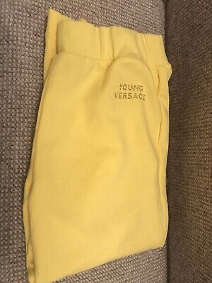 Girls Young Versace Bottoms/ Trousers Age 8