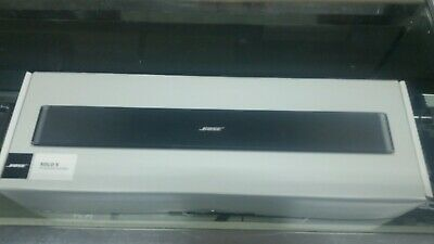 Bose 732522-1110 Solo 5 TV Sound System - Black new in opened box