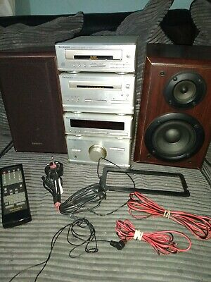 Technics SE HD301 HiFi Stereo Micro Stack System Plus Speakers