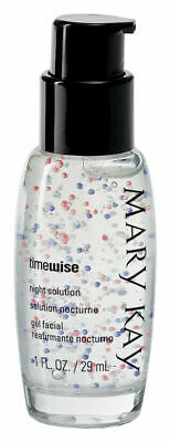 MARY KAY Timewise NIGHT SOLUTION ~ New In Box #26919 - Full Size 1 oz Bottle