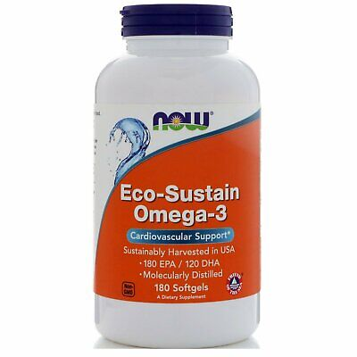Now Foods, Eco-Sustain Omega-3, 180 Softgels