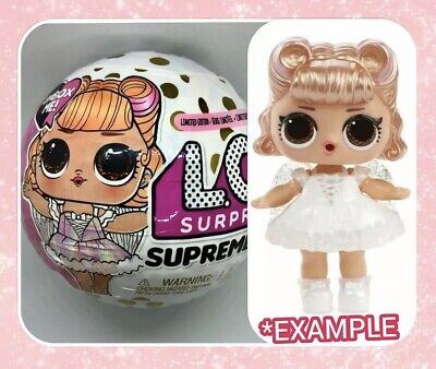LOL Surprise BFF 💞 LACE 💞Supreme GIRL Doll Limited Edition NEW Ball