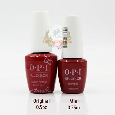 OPI GelColor Soak-Off Gel Polish 0.25oz / 7.5ml  MINI - ANY COLOR NEW AUTHENTIC