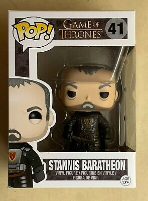 Funko POP Retired/Vaulted Stannis Baratheon Game of Thrones Vinyl Figure #14