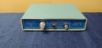 ATI MA-1000-1 Monitor Amplifier, Microamp AMP 01 from radio station