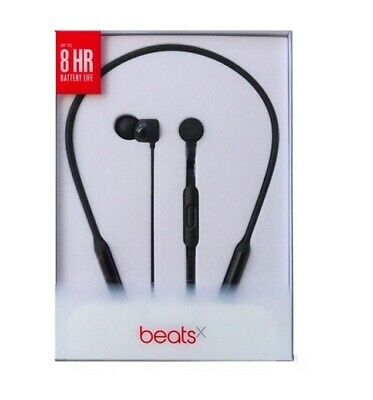 New Sealed Beats by Dr. Dre  BeatsX Wireless In Ear Bluetooth Headphones Black