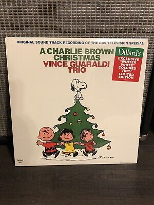 Vince Guaraldi Trio A Charlie Brown Christmas White Vinyl NEW