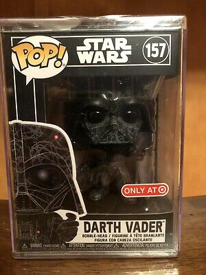 Funko Pop Futura Darth Vader #157 Star Wars Target Exclusive In Hard Stack New