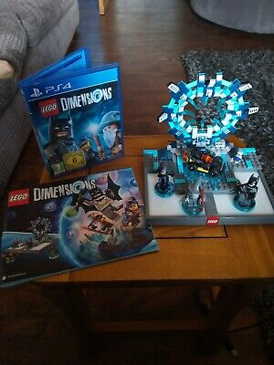 Lego Dimensions PS4 Starter Pack (71171) complete!! ( NOT BOXED)